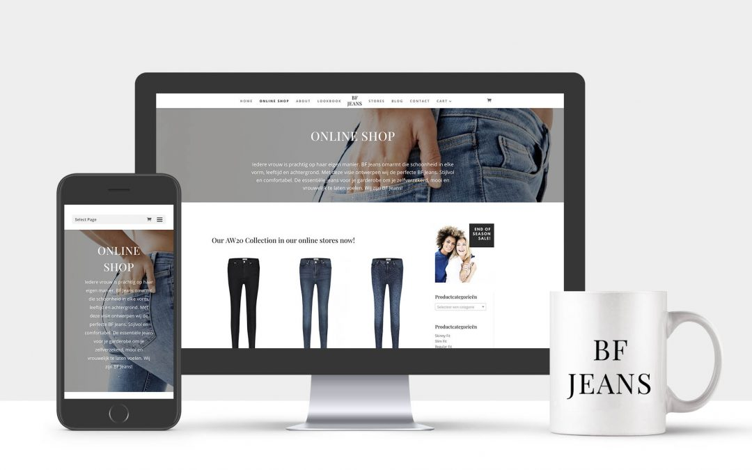 BF Jeans Online Shop Opening